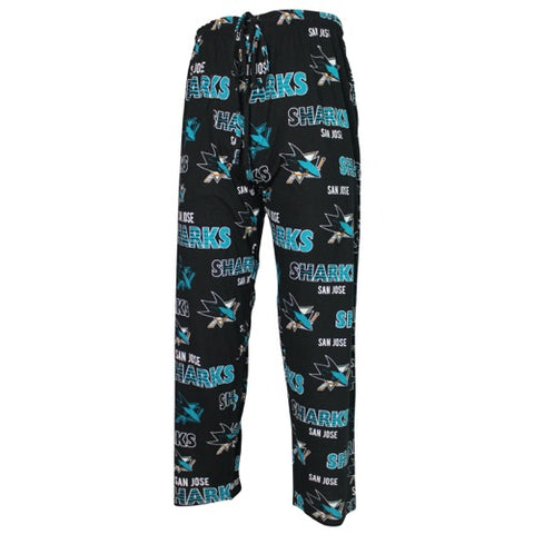 San Jose Sharks Sweep Mens Printed Knit Pants