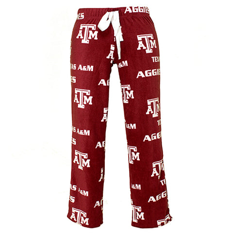 Texas A&M Aggies Facade Ladies Micro Fleece Pants