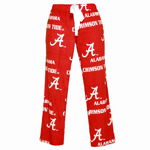 University of Alabama Crimson Tide Facade Ladies Micro Fleece Pants