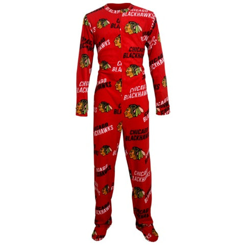 Chicago Blackhawks Wildcard Mens Union Suit