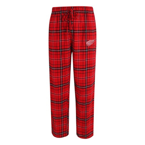 Detroit Red Wings Ultimate Mens Plaid Flannel Pants
