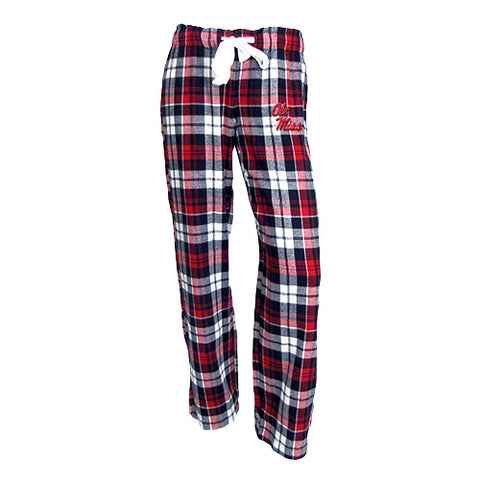 University of Mississippi (Ole Miss) Reign Ladies Flannel Pants