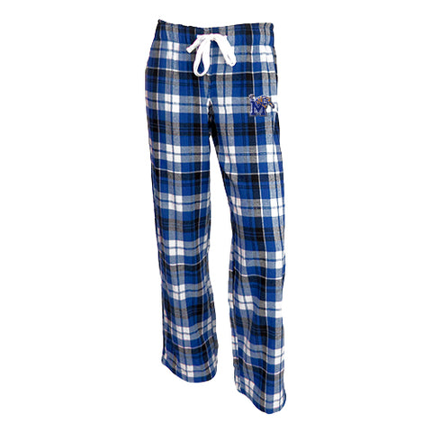 University of Memphis Tigers Reign Ladies Flannel Pants