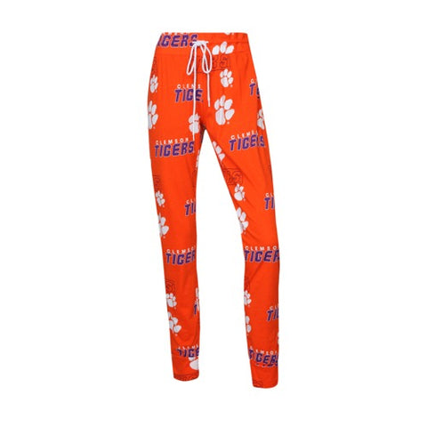 Clemson Tigers Slide Ladies Knit Pants