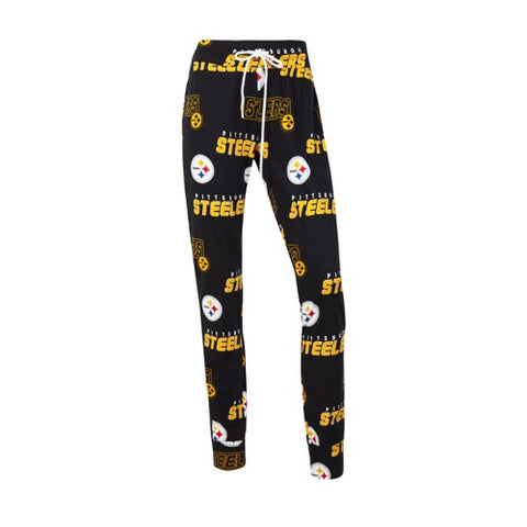 Pittsburgh Steelers Slide Ladies AOP Knit Pants