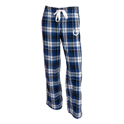 Indianapolis Colts Reign Ladies Flannel Pants