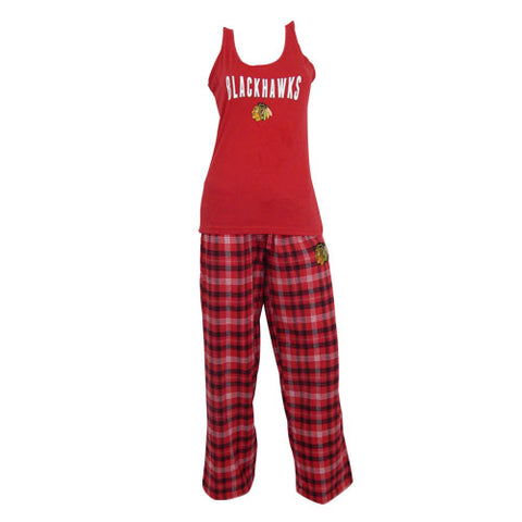 Chicago Blackhawks Candid Ladies Pant and Tank Set