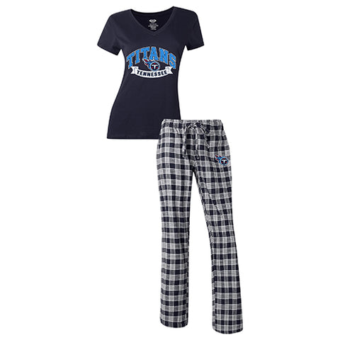 Medalist Ladies Pant & Short Sleeve Top PJ Set