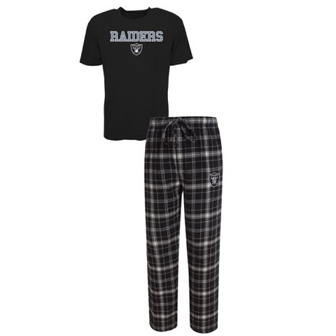 Oakland Raiders Halftime Men's Pant and Top Set