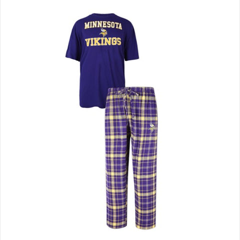 Minnesota Vikings Halftime Men's Pant and Top Set