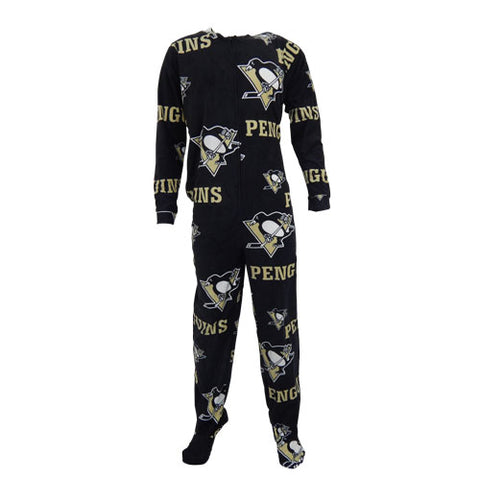 Pittsburgh Penguins Ramble Mens Union Suit
