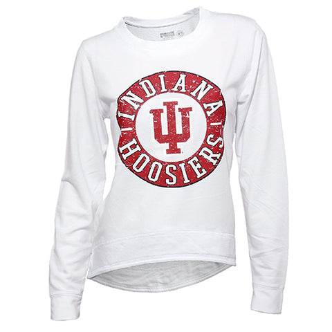 Indiana Hoosiers Home Field Crew Neck Long Sleeve