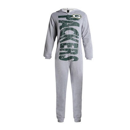 Green Bay Packers Fandom Unisex Fleece Union Suit