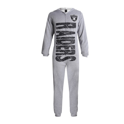 Oakland Raiders Fandom Unisex Fleece Union Suit