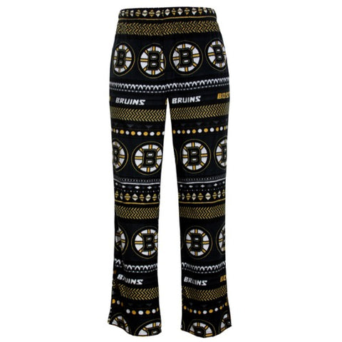 Boston Bruins Winter Mens AOP Microfleece Pants