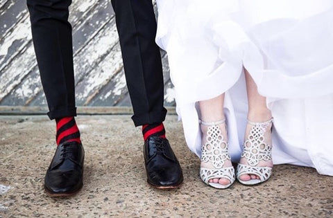 Sexy Socks wedding