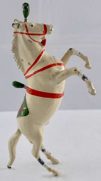 Britains prancing Liberty horse, green