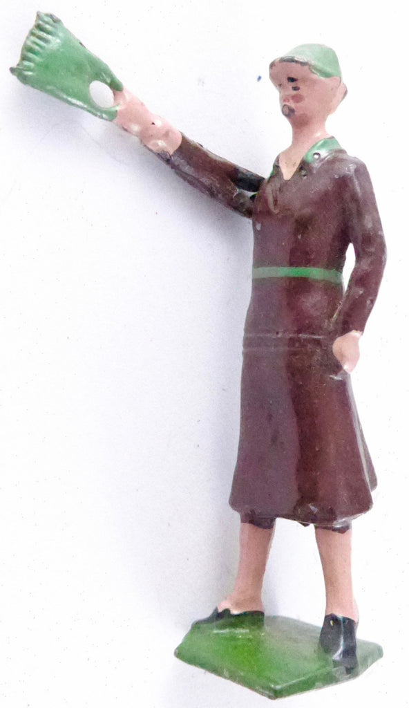 "Britains young lady with handbag / ""Flapper"", brown"