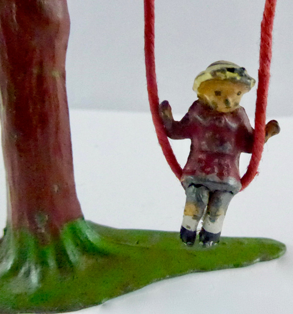 Johillco girl on tree swing