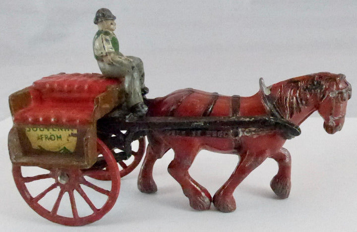 Timpo of Ireland Irish Jaunting Cart , very rare