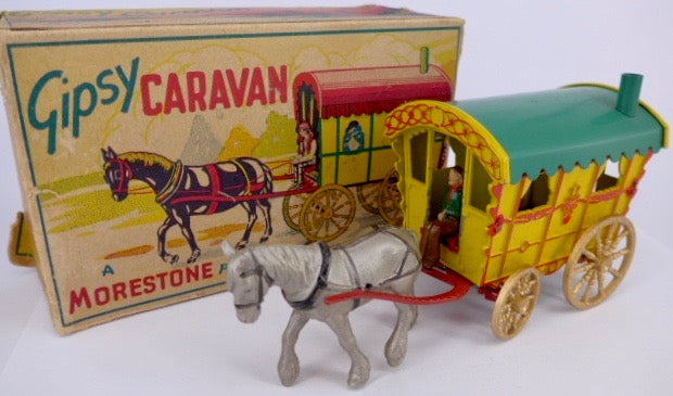 Morestone gypsy caravan, rare and boxed