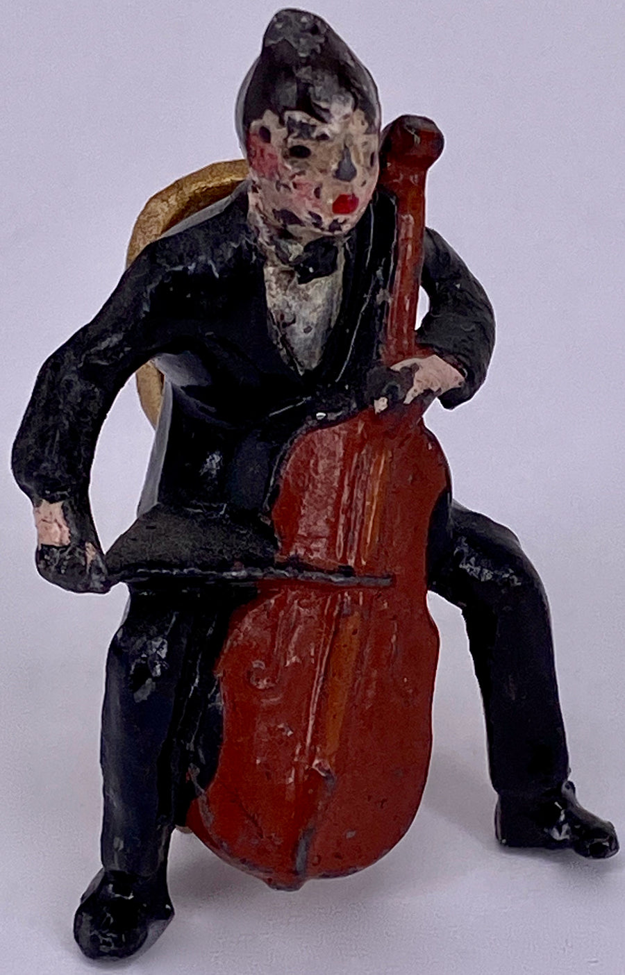 Charbens cello player and chair from Jacks Band