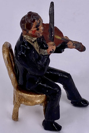 Charbens violin player and chair from Jacks Band