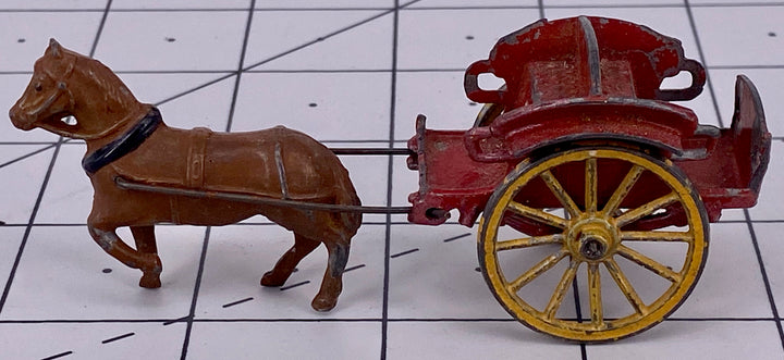 Simon & Rivolet French small pony drawn passenger cart