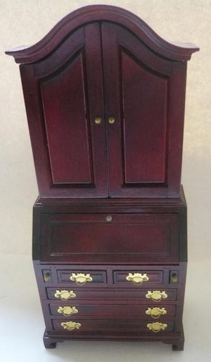 dolls house bureau bookcase
