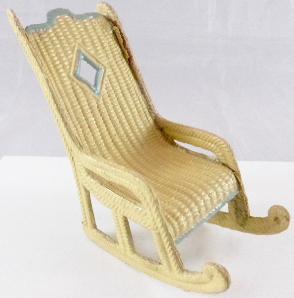 Korbi Karl Schreiter wicker rocking chair