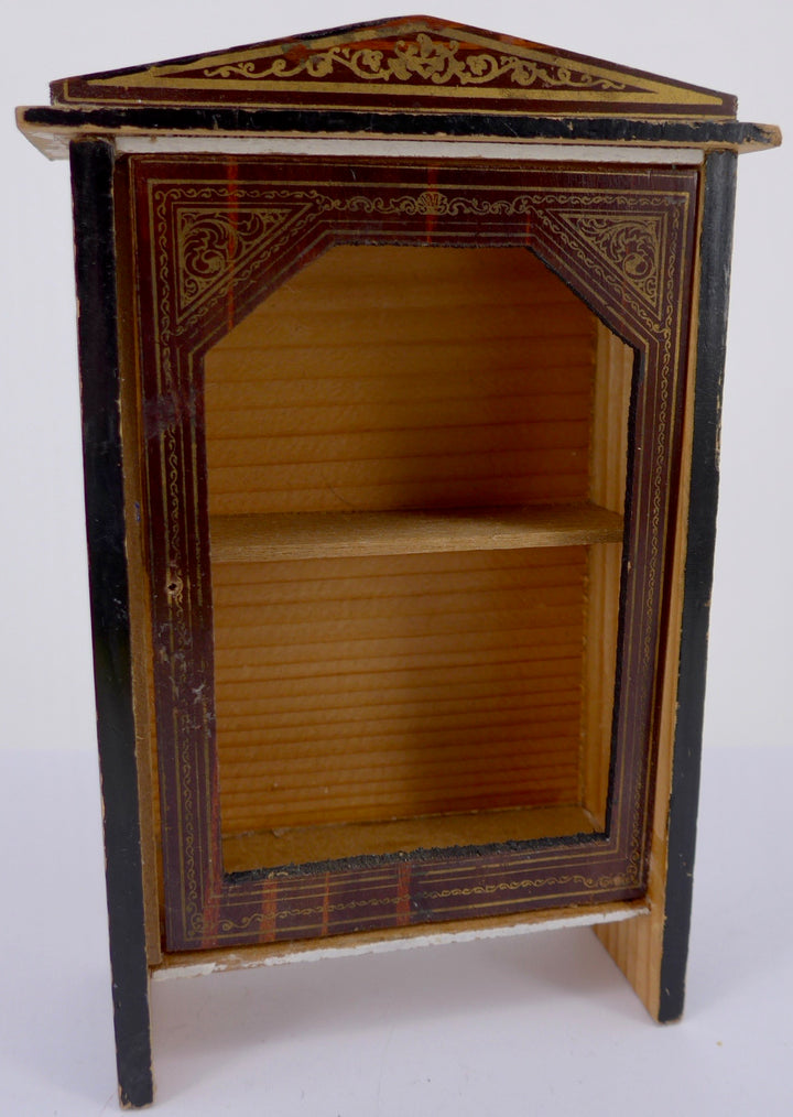 Biedermier dollhouse armoire