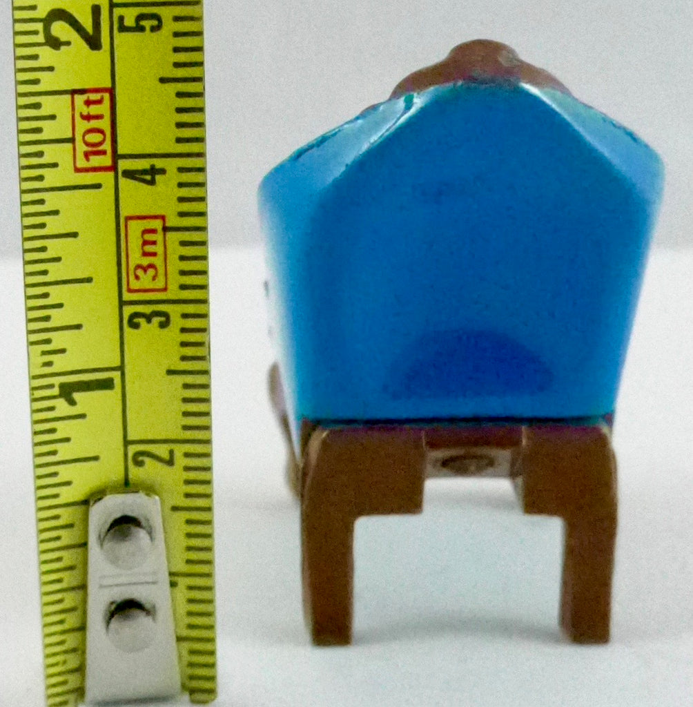 Mattel blue metal armchair