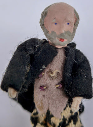 Grecon dollhouse Grandpa doll