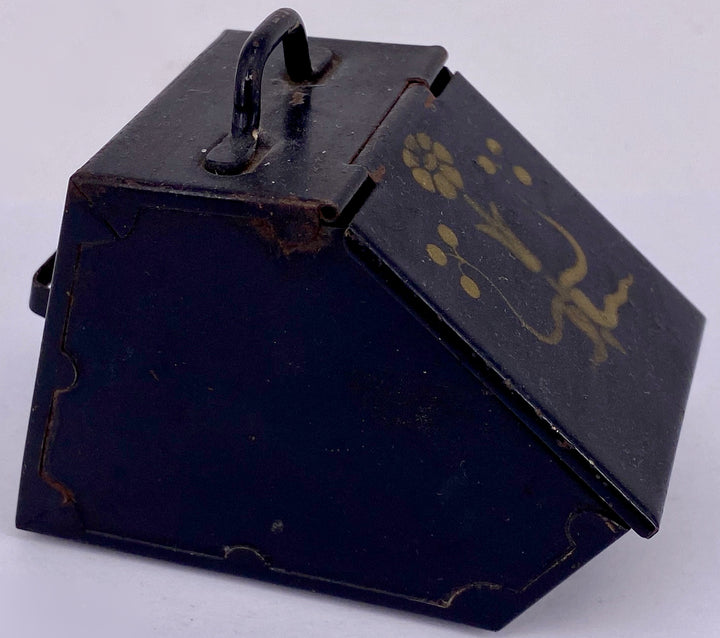 tin coal box for doll house