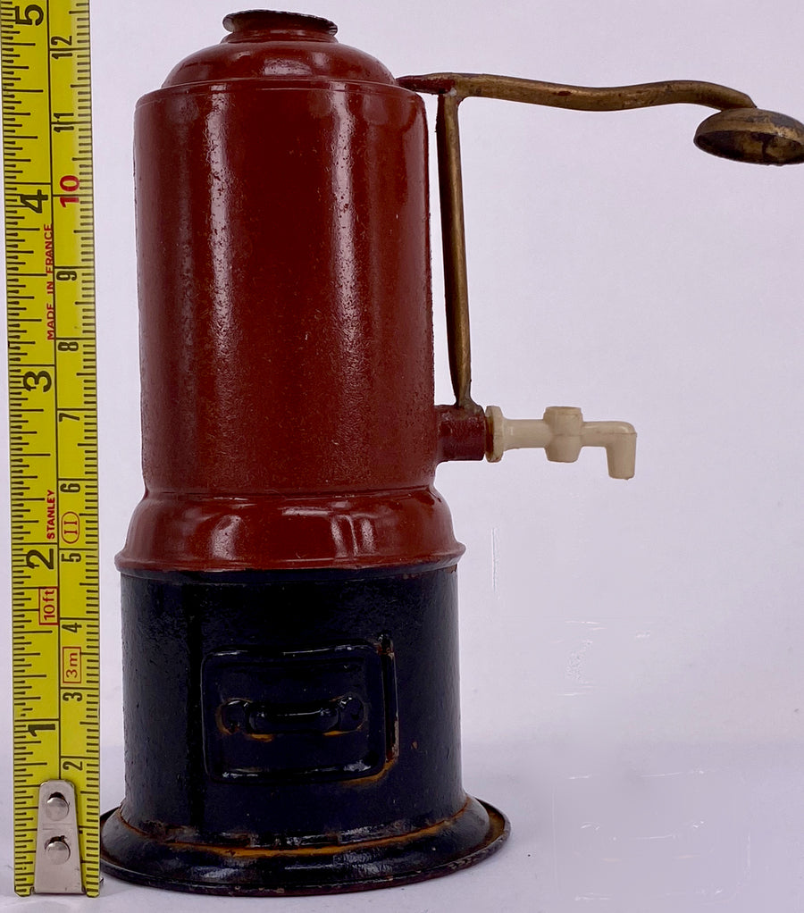 brown and black water heater for doll house