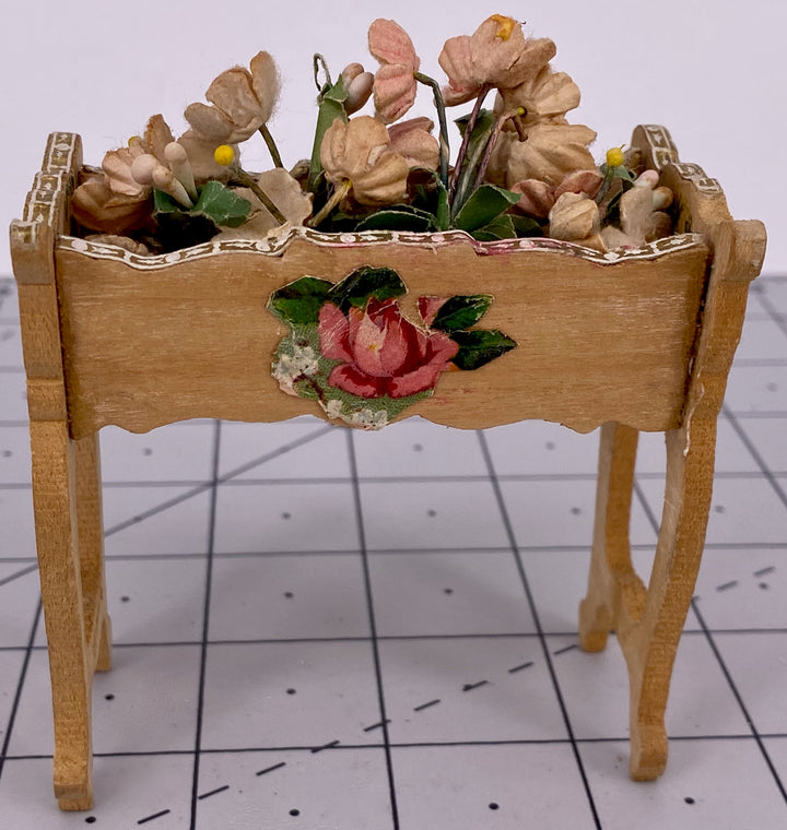 Bolant / Badeuille style natural wood planter
