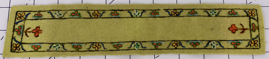vintage carpet runner for dolls' house