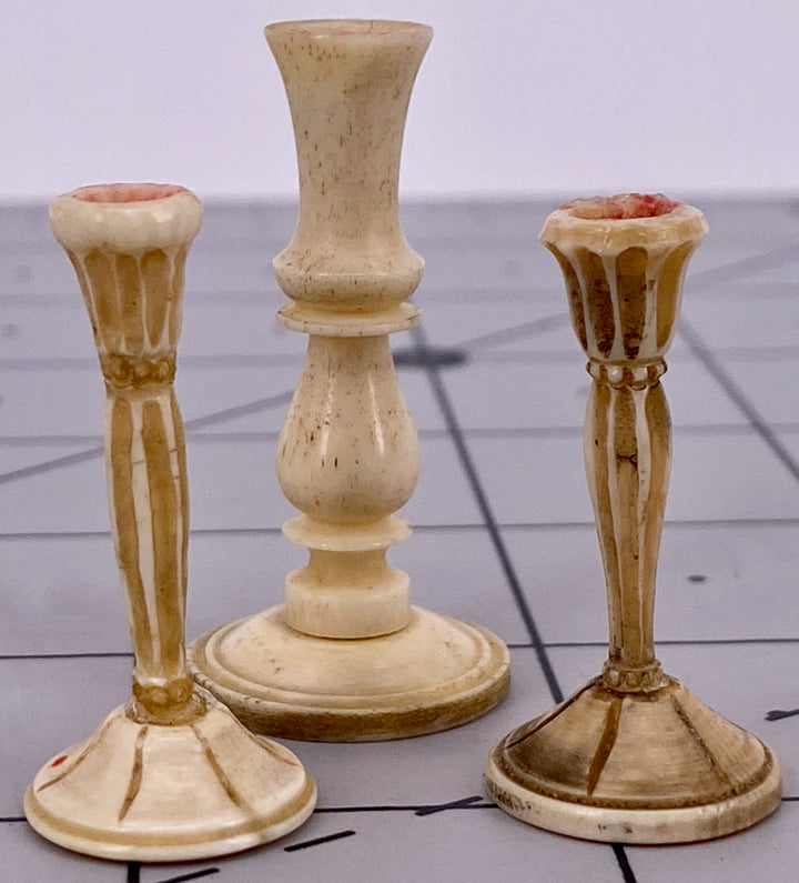three horn candlesticks