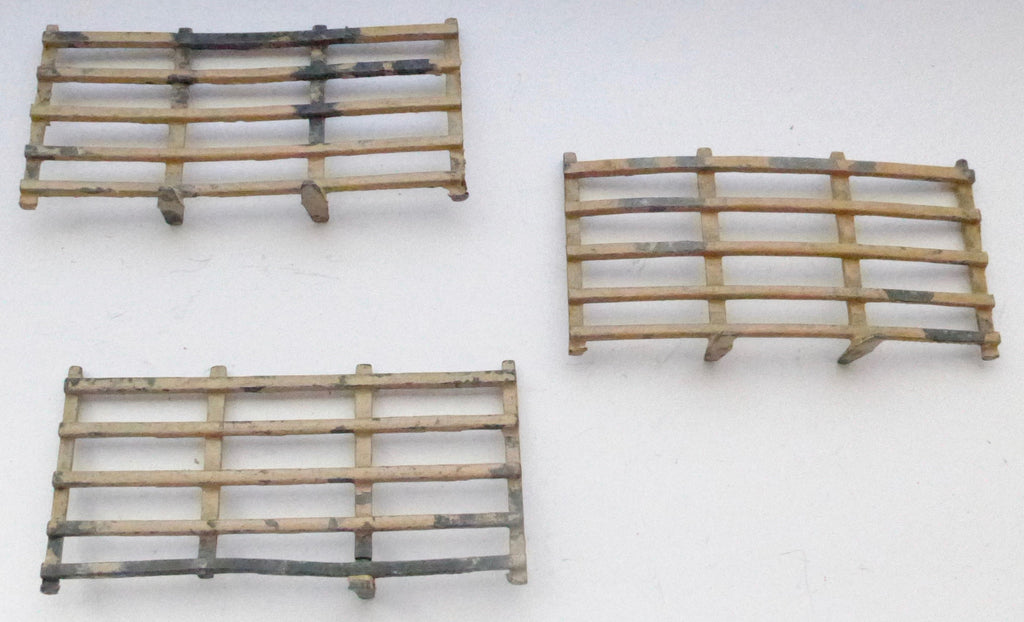 Britains fencing, set of three sections