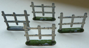 set of four Wend-al fence sections