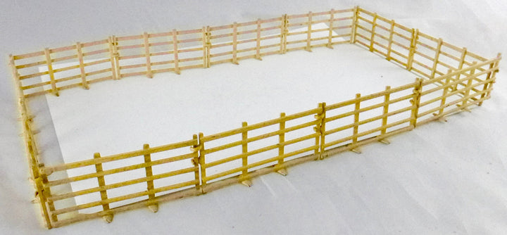set of 12 Britains interlocking fences