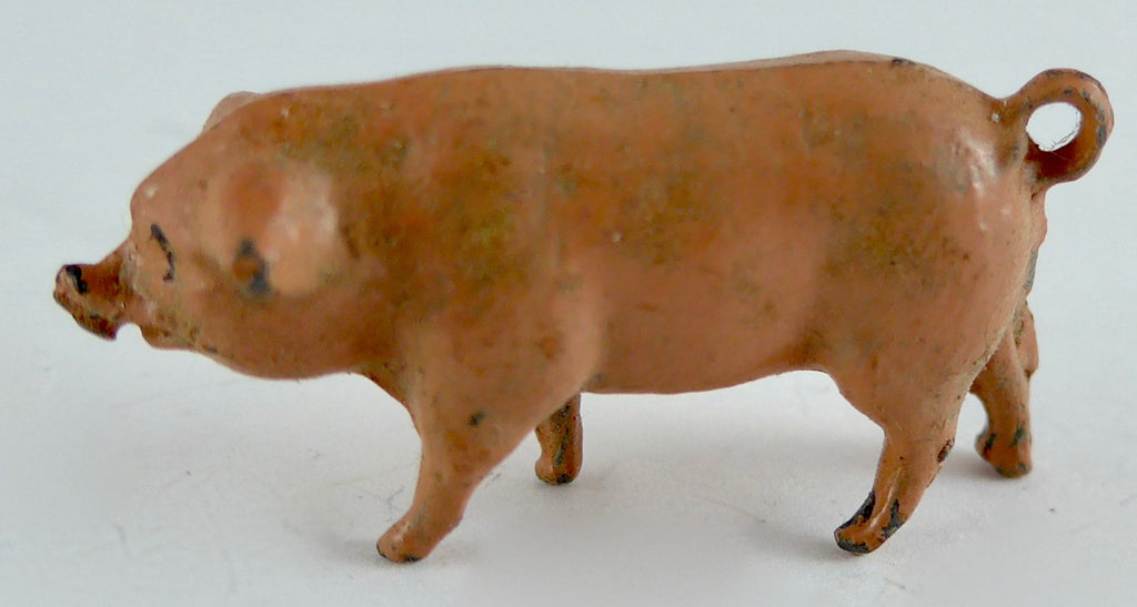 Britains pink piglet, head up