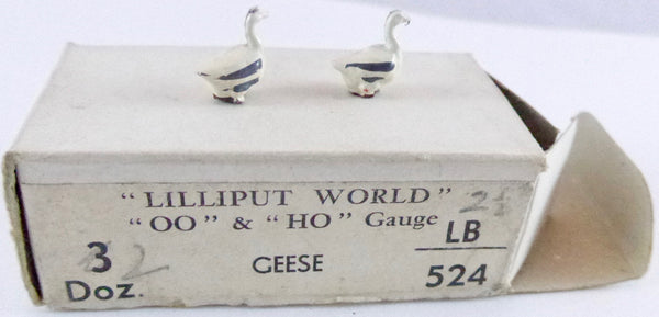 Britains Lilliput Series geese, set of two