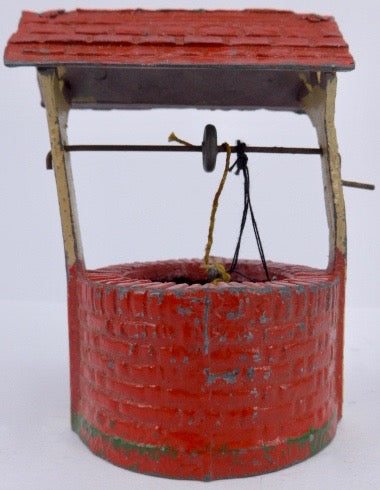 FG Taylor red well with bucket
