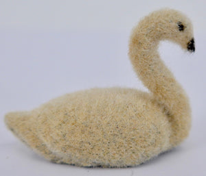 Barrett & Sons flocked swan