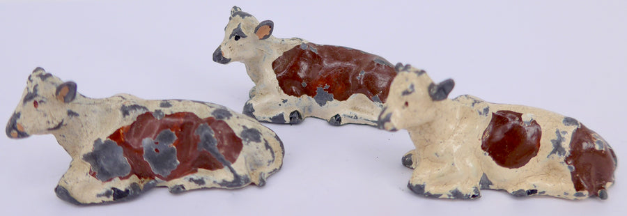 Britains calves, group of three