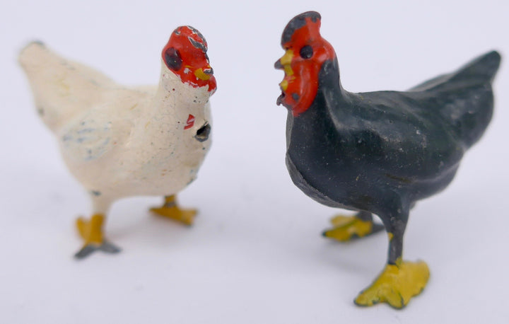 two Britains Prize Poultry hens