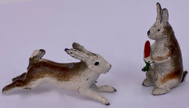 two Barrett & Son rabbits for warren set