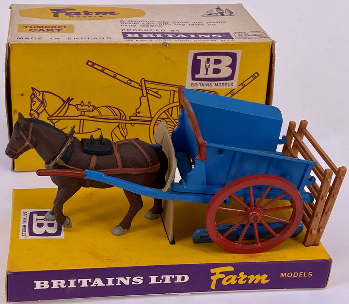 Britains Farm Series tumbrel cart 9505, boxed