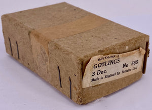 Britains trade box 3 dozen goslings